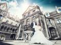 Dostojny klimat zdjęć ślubnych na zamku