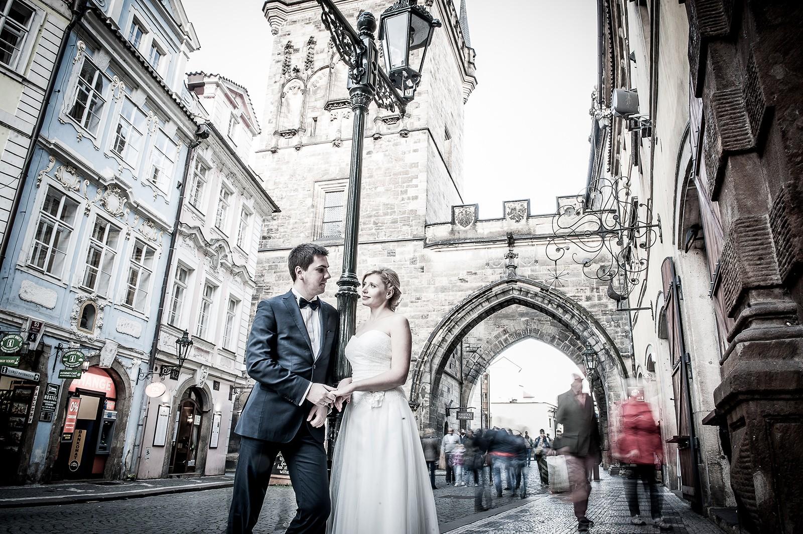 Plener ślubny - Praga