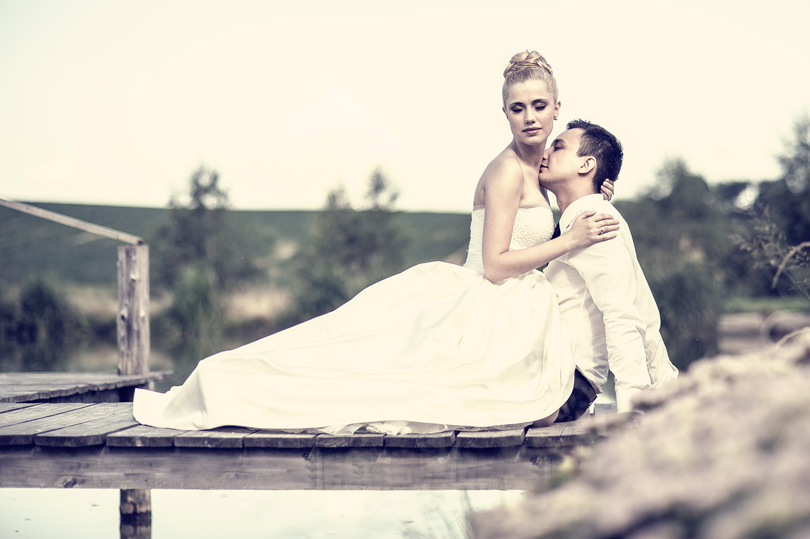 PLener ślubny w stylu wiejskim